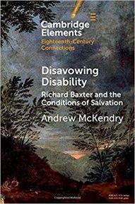 Richard Baxter diability front cover